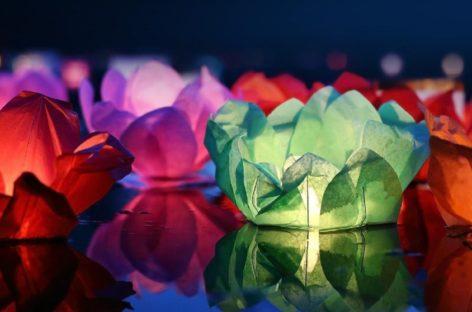 Сальчан приглашают вместе запустить водные фонарики в День России