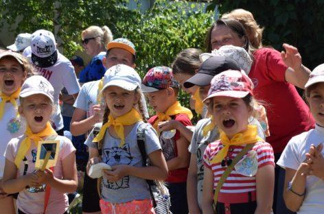 Фестиваль «Эколята — дружные ребята» прошёл на станции юных натуралистов