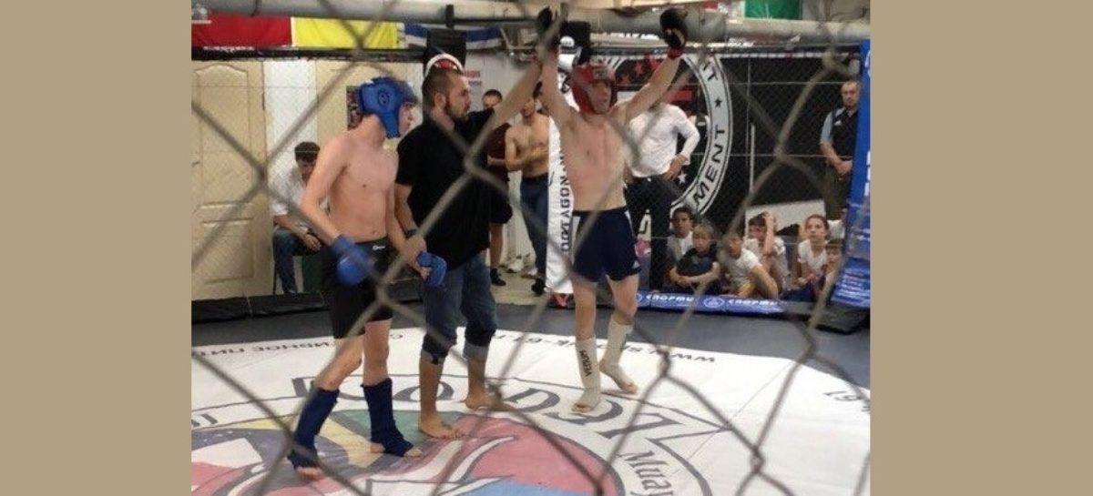 Сальчане показали себя на турнире по ММА в Ростове