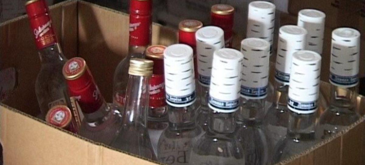 В Сальске остановили автоледи, перевозившую пять ящиков водки без акцизных марок