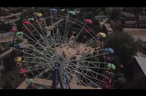 Летом сальчане любят отдохнуть в парке культуры (видео с высоты)