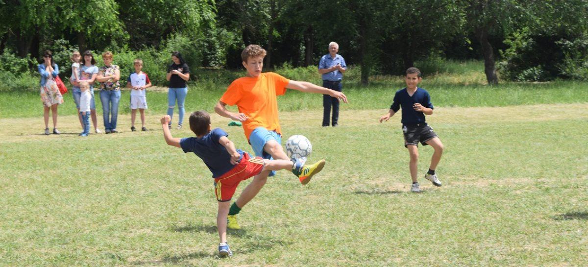 ЧМ-2018 в России посвятили футбольный праздник для школьников в Ивановке