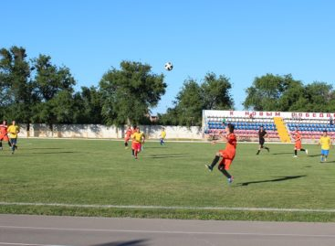 Сальчане победили весёловских футболистов на кубке губернатора