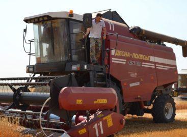 «Бараниковское» набирает темпы хлебоуборки