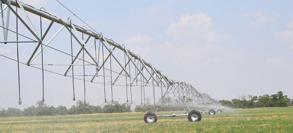 В Новом Егорлыке заработала современная дождевальная система