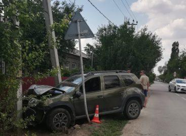 В Сальске водитель «KIA Rio» не уступил дорогу «Renault DUSTER»