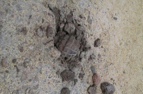 В Сандате нашли и обезвредили гранату времён ВОВ