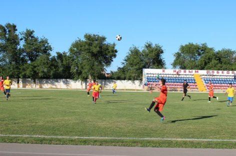 Стартовал второй круг открытого чемпионата Сальского района по футболу