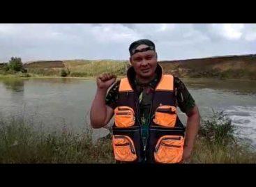 В пятнадцатидневный сплав по реке Егорлык отправился сварщик из Белозёрного