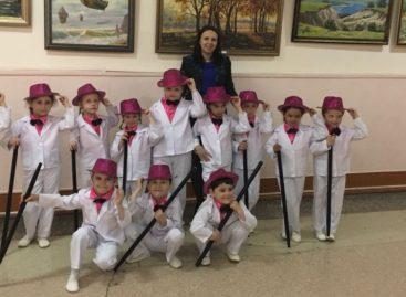 Юные танцоры из Сандаты успешно выступили в Таганроге