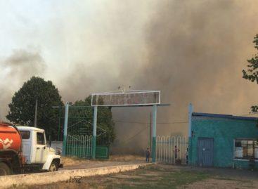 В Сальском районе продолжает действовать особый противопожарный режим