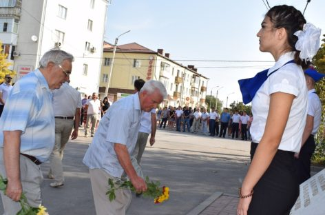 Сальчане почтили память участников освобождения Ростовской области
