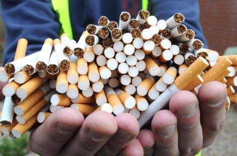 Сальчанин попался на реализации немаркированных табачных изделий