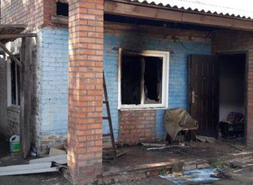 В частном доме в Сальском районе сгорела пожилая женщина