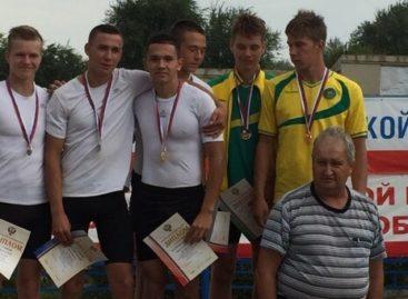 Сальчанин выиграл чемпионат России по гребле