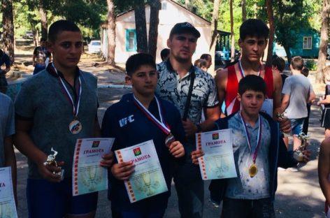 Борцы из Гиганта добыли шесть медалей открытого областного турнира