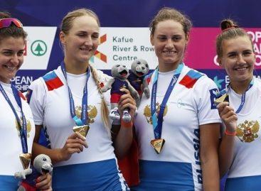 Сальчанка Елена Орябинская победила на чемпионате Европы по академической гребле
