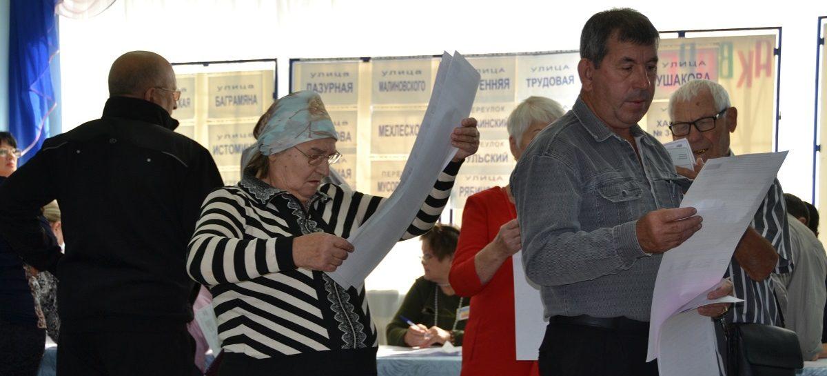 Сальчан ждут на избирательных участках города и района