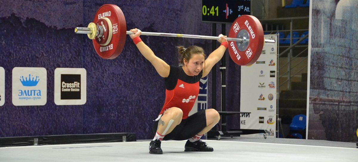 Сальчанка Кристина Соболь победила на Кубке России по тяжелой атлетике