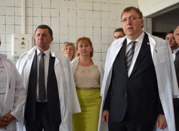 Сальск посетил председатель Законодательного Собрания Дона