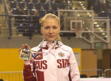 Сальчанка Татьяна Рыбальченко завоевала серебро международных соревнований в Венгрии
