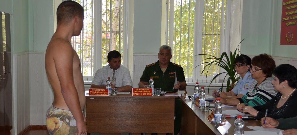 В осенний призыв в армию из Сальского района должны уйти 147 ребят