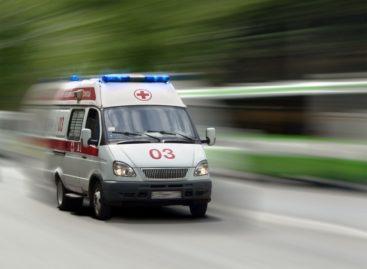 Диск от «болгарки» разлетелся во время работы, поранив сальчанину ногу