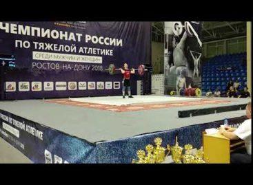 Дома помогли стены: Кристина Соболь, несмотря на травму, взяла «серебро» чемпионата России по тяжелой атлетике