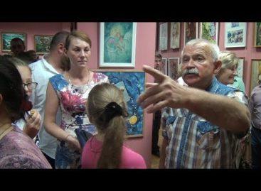 Как прошло открытие выставки Владимира Сусина в сальском художественном музее