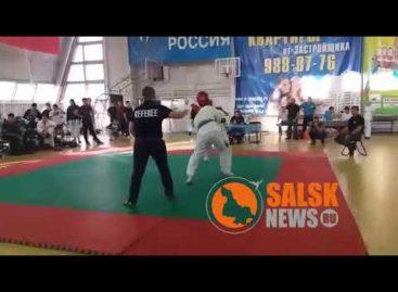 Сальчанин Александр Зайцев победил на чемпионате Москвы и Московской области по рукопашному бою