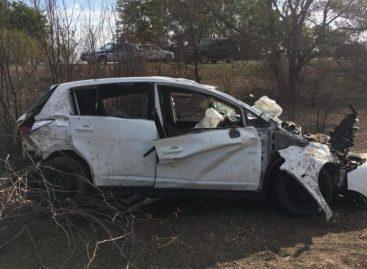 После страшной аварии за Сальском в реанимации оказались трое мужчин