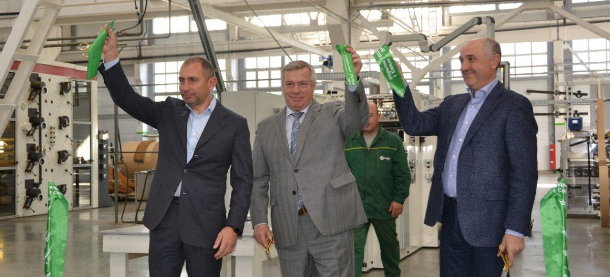 Губернатор Дона открыл новую линию на «Сегежской упаковке» в Сальске