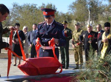 В Екатериновке перезахоронили останки уроженца села