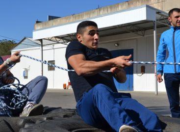Впервые в Сальске прошли соревнования по силовому экстриму среди студентов