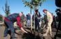 На Самбекских высотах заложили сад Победы