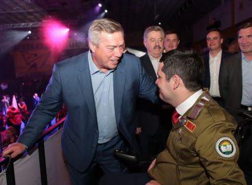 Глава Донского региона поприветствовал участников слёта студенческих отрядов