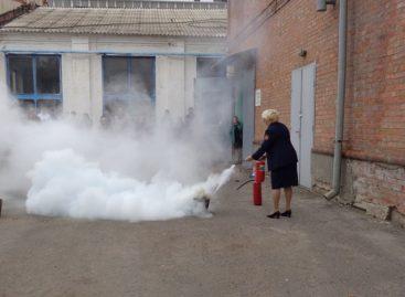 В депо «Сальск-Грузовое» прошли учения по мерам пожарной безопасности