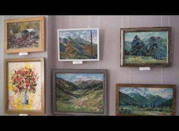В Сальском художественном музее работает выставка «Наш край степной»