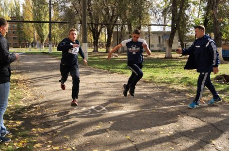 Едины спортом: сальчане встречают День народного единства сдачей норм ГТО