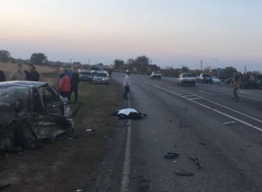 Вчера в Сальске, на улице Аэродромной, произошла страшная авария
