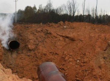 Из-за аварии на газопроводе 1,5 тысячи домов в трёх сёлах Сальского района остались без газа