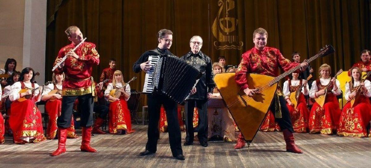 Оркестр русских народных инструментов «Дон» приезжает в Сальск