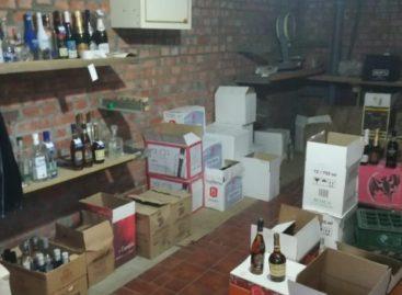 В Сальске оперативники изъяли контрафактный алкоголь