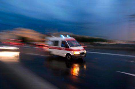 Ночью на путепроводе в Сальске водитель «пятнадцатой» не разминулся с «Шансом»