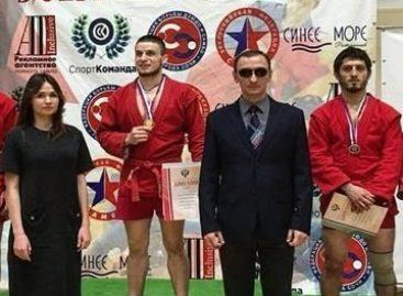 Спортсмен из Сальска стал чемпионом России по самбо среди слепых и слабовидящих