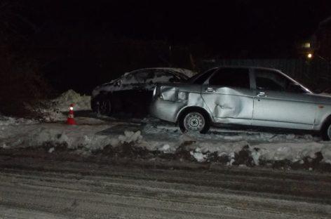 Неугомонного водителя «Приоры» остановили только после третьей аварии