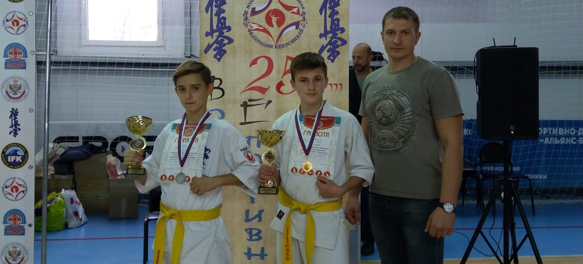 Сальские каратисты добыли две медали в Волгограде на первенстве ЮФО