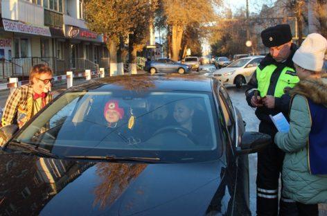 Сотрудники ГИБДД дарили водителям билеты в цирк