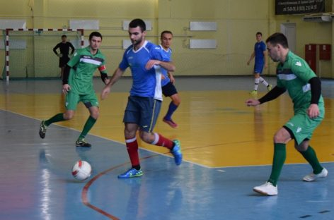 Мини-футбол на Рождество: приходите всей семьей на матчи Единой лиги