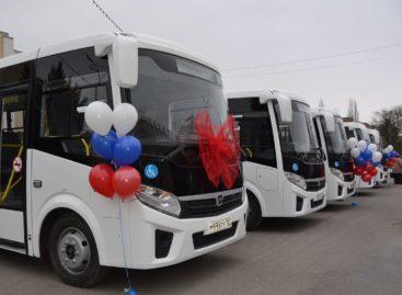 В Сальске автопарк ПАТП пополнился новым автотранспортом